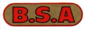 B.S.A. Company - Image: BSA pre war tank logo
