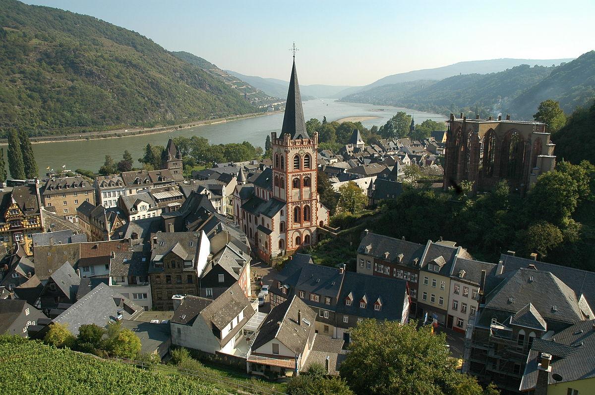 Знаменитые замки Германии в долине Рейна
