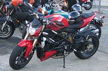 A 2009 Ducati Streetfighter