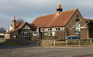 Backwell - Backwell's Parish Hall, built in 1910.