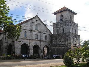 Baclayon, Bohol - Baclayon church