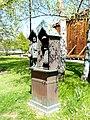 Bad Sassendorf – Bronze-Skulpturen – Wetterhaus am Gradierwerk von Bonifatius Stirnberg - panoramio.jpg