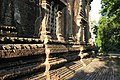 Bagan, Myanmar, Stone walls of ancient pagoda, Bagan plains.jpg