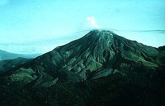 Bougainville Island - Bagana volcano