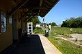 Bahnhof Auersthal Wartebereich.JPG