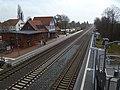 Bahnhof Bersenbrück von Brücke.JPG