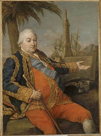 Pierre André de Suffren - Suffren, by Pompeo Batoni.