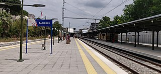 Bakırköy railway station a railway station of İstanbul, Turkey