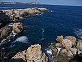 Balearen, Ibiza, Wanderung NW Cala Codolar - Cala Comte - Punta de sa Torre - panoramio (4).jpg