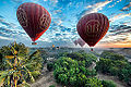 Balloons over Bagan by photographer @ChrisMichel (14870166246).jpg