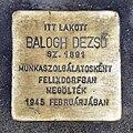 Balogh stolperstein Bp07 Klauzál8.jpg