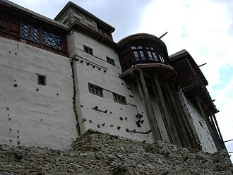 Hunza (princely state) - the former residence of the Mirs of Hunza