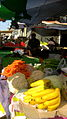 Banana of Philipines - Firut vendor in Cotton-beating Bazaar of Nishapur at morning 02.JPG