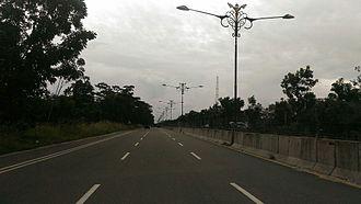 Kampar Regency - Pekanbaru-Bangkinang Highway Road, across the regency