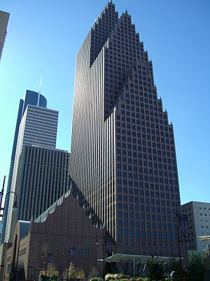 Bank of America Center (Houston) - Image: Bank of America Center Houston 1