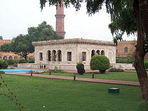 Baradari (building) - Hazuri Bagh Baradari Lahore, Pakistan