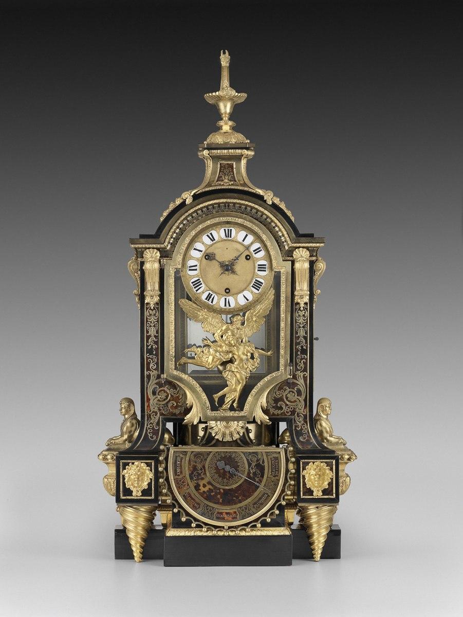 Barometer Clock (Boulle) Front