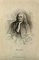 Baron Albrecht von Haller. Line engraving by W. H. Lizars. Wellcome V0002520.jpg