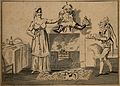Baron Donder-Dronk-Dickdorf and Miss Quoltz, a scene from a Wellcome V0007064.jpg