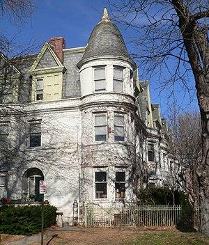 National Register of Historic Places listings in Lancaster County, Nebraska - Image: Barr Terrace (Lincoln, Nebraska) SE corner