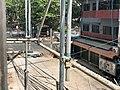 Barricades at Myaynigone Yangon 1.jpg