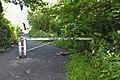 Barrier at eastern end of Bromborough Dock Branch.jpg