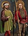 Bartholomäus Zeitblom - Die Heiligen Sebastian und Georg (^) - 43 - Staatliche Kunsthalle Karlsruhe.jpg