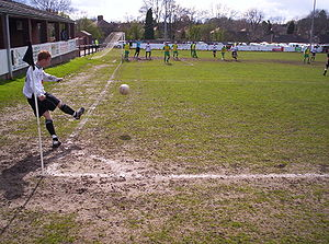 Midland Football Alliance - Midland Alliance action from 2008, as Boldmere St Michaels (white shirts) take on Barwell
