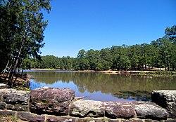 Bastrop state park lake.jpg