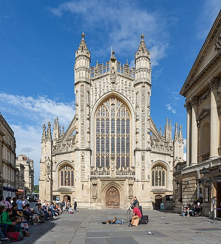 Bath Abbey Bath Abbey Exterior, Somerset, UK - Diliff.jpg