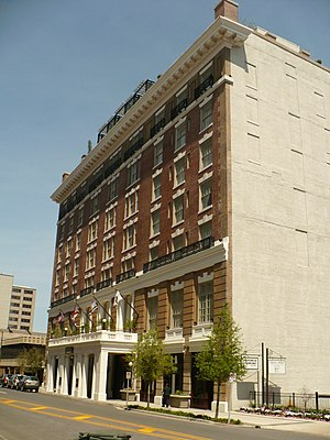 The Battle House Hotel - View from the east on Royal Street in 2008