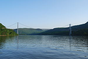Bear Mountain Bridge - Bear Mountain Bridge in 2009