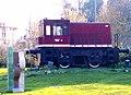 Beasain - locomotora Diesel de CAF.jpg