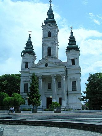 Bečej - Serbian Orthodox Church.