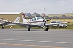 Beechcraft F33A Bonanza (VH-SIQ) taxiing at Wagga Wagga Airport.jpg