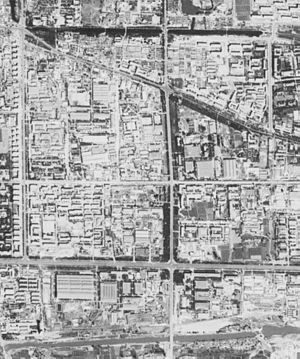 Beijing central business district - Beijing CBD before development. (1967-09-20)