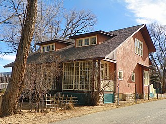 National Register of Historic Places listings in Taos County, New Mexico - Image: Beimer House, Taos, NM