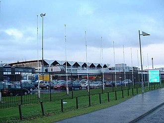 Belfast International Airport - Image: Belfast International Airport geograph.org.uk 119152