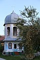 Belfry near Greek Catholic Church in Dytiatyn, Ukraine.jpg