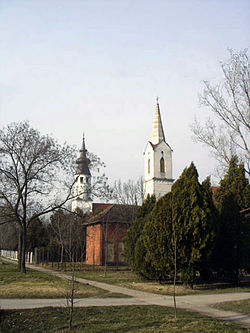 Belo Blato, Catholic and Evangelical Churches.jpg