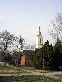 Belo Blato, Catholic and Evangelical Churches.jpg