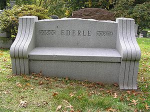 Gertrude Ederle - The grave of Gertrude Ederle