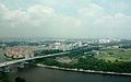 Benjamin Sheares Bridge, Singapore, From Singapore Flyer.jpg