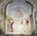 Benozzo gozzoli, tabernacolo di legoli, 1479-80, 12 martirio di san sebastiano.jpg