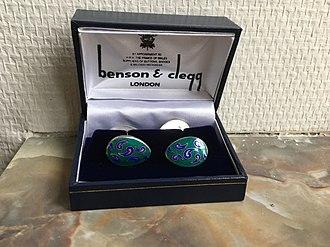 Benson & Clegg - Image: Benson & Clegg cufflinks
