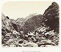 Berglandschap in Palestina Summit of Jebel Músá from Rás Sufsáfeh (titel op object), RP-F-F80366.jpg