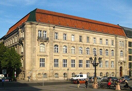 Berlin, Mitte, Jägerstraße, Berlin-Brandenburgische Akademie der Wissenschaften 01