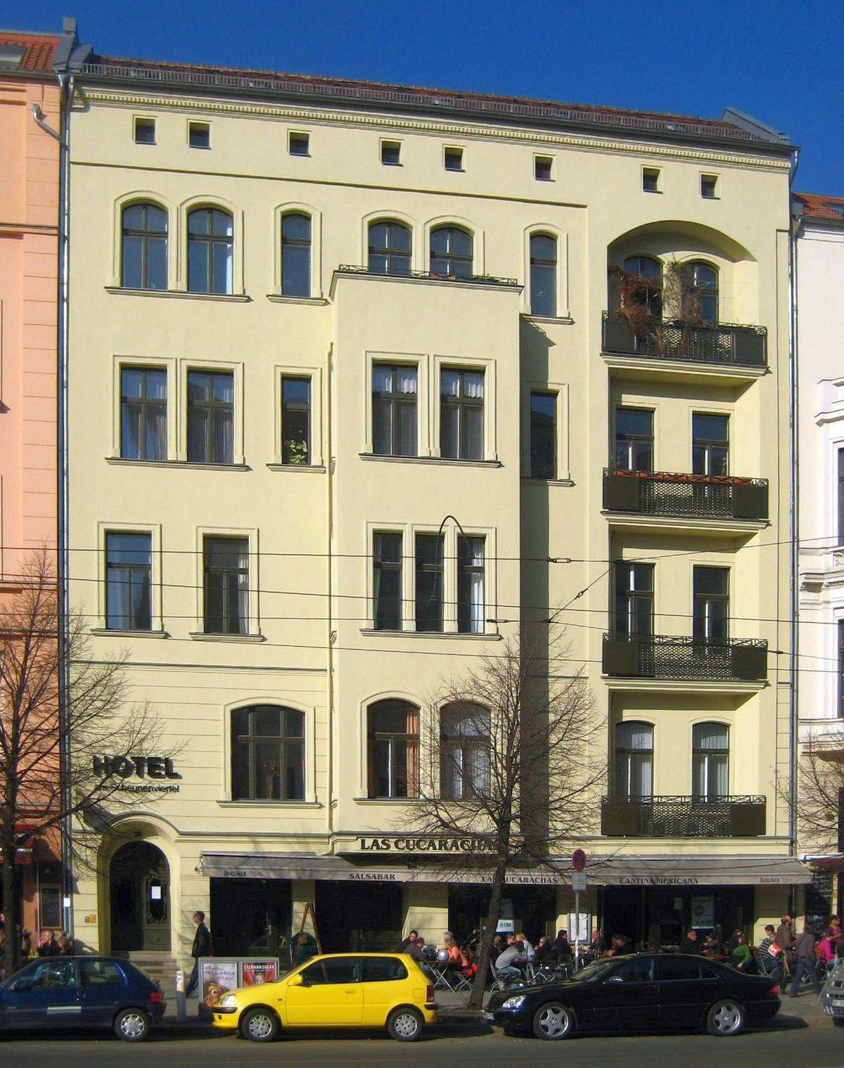 hotel oranienburger strasse