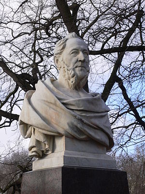 Albert Manthe - Bust of Gustav Meyer
