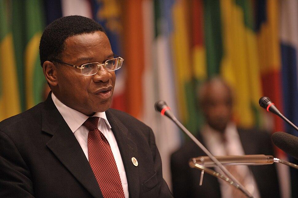 Bernard Mbembe, 12th AU Summit, 090129-N-0506A-493